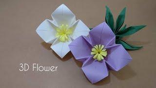 Origami flower 4 petals sport videos origami 4 petal flower mightylinksfo