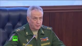 Брифинг Министерства обороны РФ по ситуации в Сирии (16.09.16)
