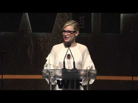 Cate Blanchett during show at the Women In Film 2014 Crystal + Lucy Awards