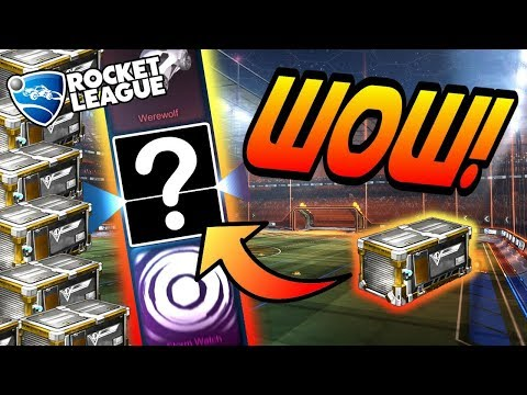 Rocket League CRATE OPENING: NEW VICTORY CRATES! (Search for Trigon, Werewolf, Storm Watch) thumbnail