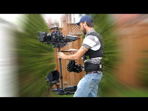 Pro Steadicam with follow focus from CAME-TV