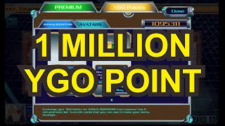 open booster with 1 million ygo point in yu gi oh duel generation