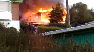 Major House Fire in Dunedin New Zealand