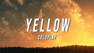 Coldplay - Yellow (TikTok Remix) [Lyrics]