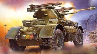 Бронеавтомобили США времен Второй Мировой. Колесные танки второй мировой