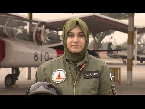 PAKISTAN'S FEMALE FIGHTER PILOTS - BBC NEWS