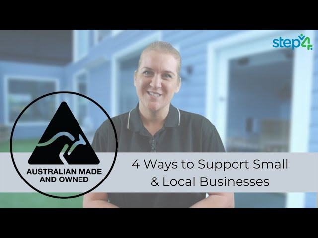 4 Ways to Support Small & Local Businessses