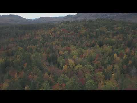 DJI Mavic Pro Flying in the White mountains in New Hampshire near plymouth in the fall