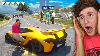I STOLE My Lamborghini Back From THE MOB In GTA 5.. (Mods)