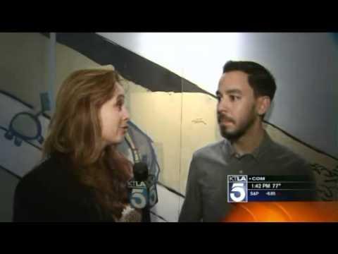 KTLA Interviews Mike Shinoda and Koshi from B'z