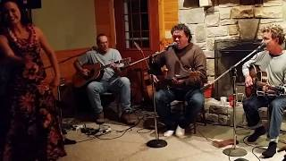 Intimate evening at the cabin with Hapa performing Tuahine. With gu...