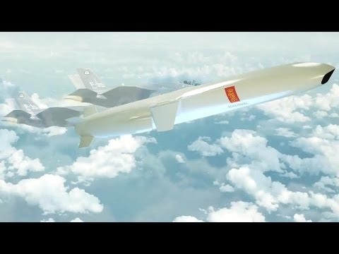 Kongsberg Defence Systems - F-35 & Land-Based Joint Strike Missile (JSM) Combat Simulation [720p]