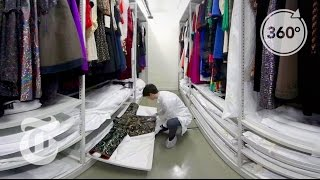 Step Inside Yves Saint Laurent's Closet | The Daily 360 | The New York Times