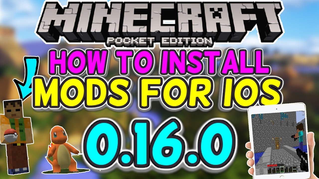 How to Install Mods/Addons for iOS! - Minecraft PE 1 0 5+ (ADDONS)