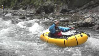 canyons shortshort packraft river