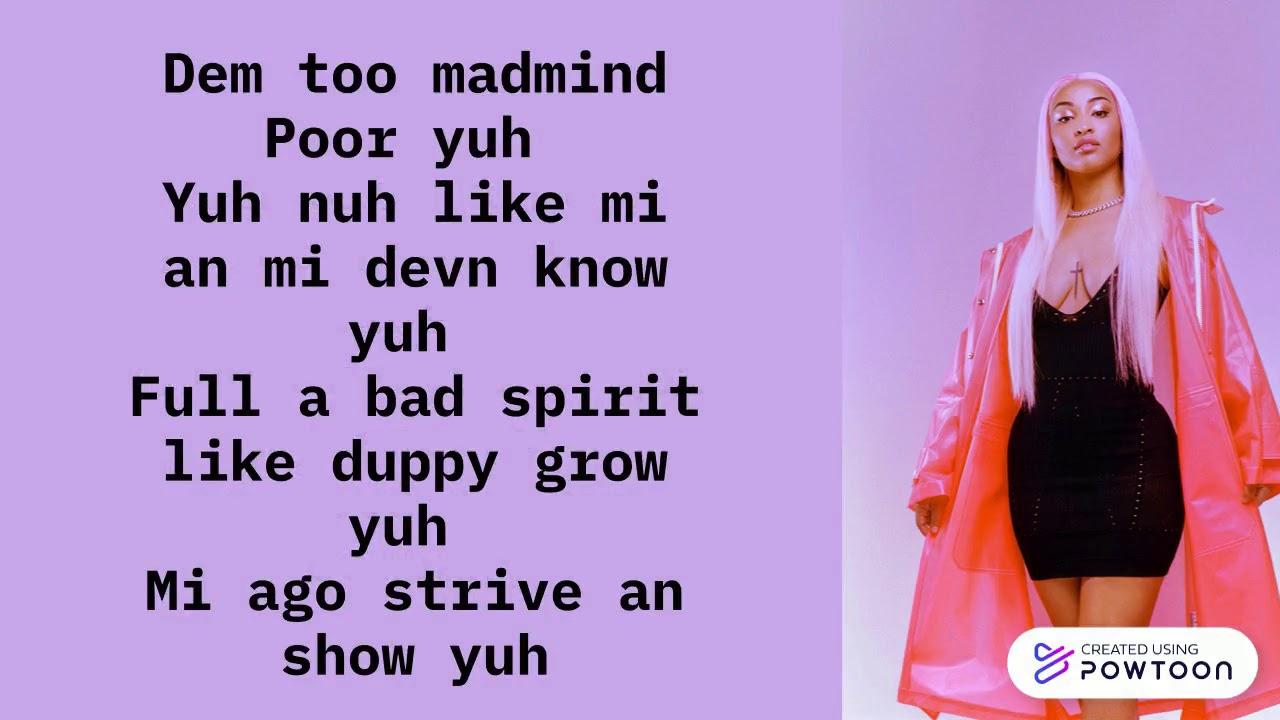 Download Shenseea - Upset Lyrics