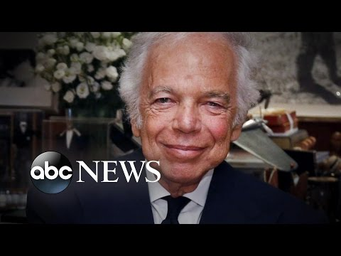 Ralph Lauren Steps Down As CEO of Fashion Empire