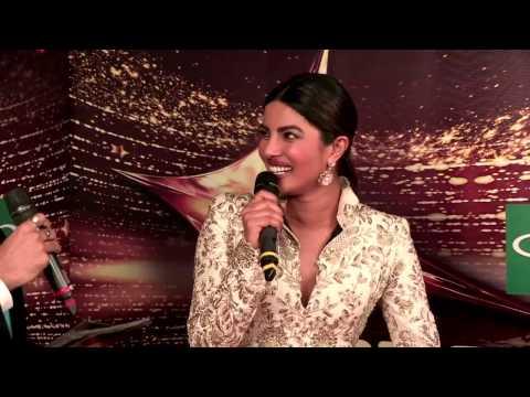 Priyanka Chopra sings her favorite songs