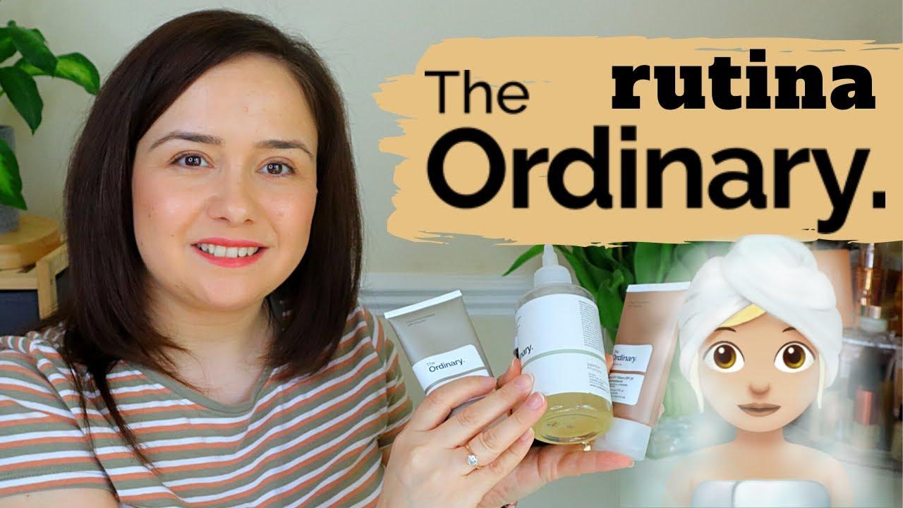 THE ORDINARY RUTINA DE ÎNGRIJIRE A TENULUI - 5 produse pe care toti le putem folosi
