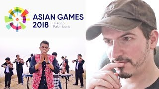 ALFFY REV - Official Songs 18th Asian Games 2018 Mash-Up REACTION + REVIEW