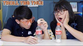 Troll TBB Thúi Cho Quả Trứng Vào Chai Coca Cola