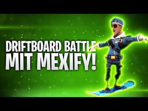 DRIFTBOARD BATTLE MIT MEXIFY! ⛸️ | Fortnite: Battle Royale