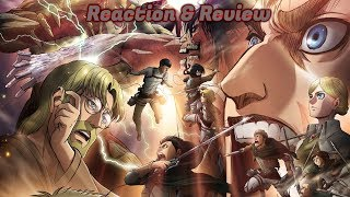 Attack On Titan ( 進撃の巨人 Shingeki No Kyojin ) Season 3 Part 2 Episode 6 Reaction & Review