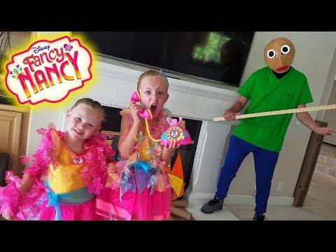 Baldi's Basics in Real Life! Disney Fancy Nancy Toy Scavenger Hunt! Fantastique Toys!!