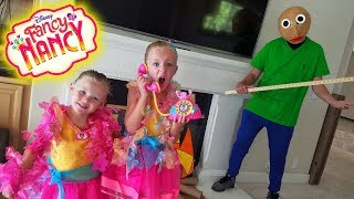 Baldi's Basics In Real Life! Disney Fancy Nancy Toy Scavenger Hunt! Fantastique Toys!!