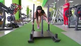 King Fit - Тренировка для ударного тонуса ягодичных мышц с Александрой Дудник. Часть 2