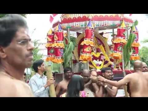 Sri Naagapoosany amman aalayam Pforzheim Germany  - Theer Thiruvila 2016 Highlights