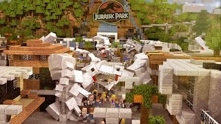 Minecraft | Morph Hide and Seek - JURASSIC WORLD: Indominous Rex! (Dinosaurs)