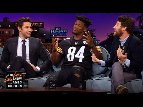 John Krasinski, Jimmy Butler & Adam Pally Compare Basketball Skills