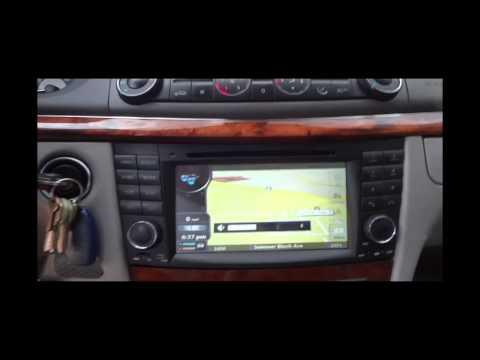 Mercedes E-Class W211 Stereo Upgrade
