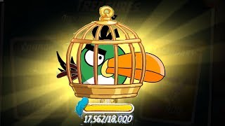 Angry Birds 2 - PICK YOUR EXTRA BIRDS! UPGRADE HAL HIT PIGGIES THEM ALL!