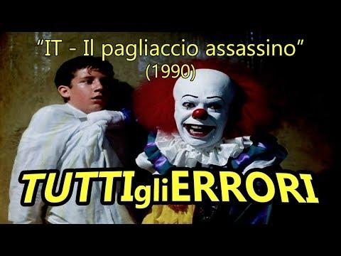 """Tutti gli Errori di """"IT - IL PAGLIACCIO ASSASSINO"""" in 23 Minuti Circa!"""