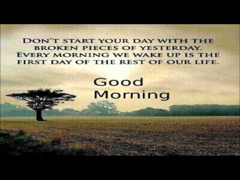 Inspirational Good Morning Video Message | Good Morning Wishes, Quotes, SMS