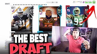 89 OVERALL DRAFT!! THE BEST DRAFT EVER - Madden 19 Draft Champions Gameplay