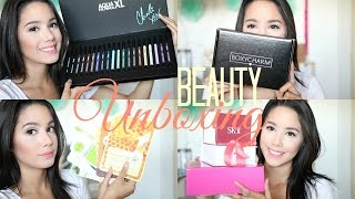 BEAUTY UNBOXING | APRIL BOXYCHARM, ROCKSBOX, MISS TUTII & MORE | BECKYMORFIN