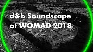 Soundscape stage at WOMAD 2018. An immersive audio experience