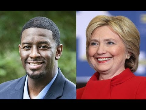 Hillary Clinton To Campaign With Andrew Gillum