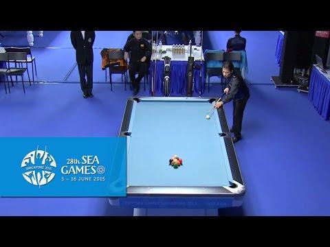Billiards - Men's Singles Finals (Day 5) | 28th SEA Games Singapore 2015