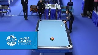 Billiards - Men's Singles Finals (Day 5) | 28th SEA Games Singapore 2015