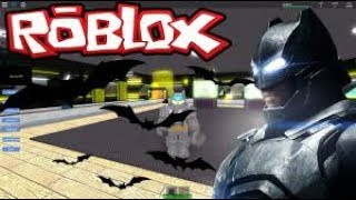 ROBLOX: Fabrica de Super Herois [Soy Batman]