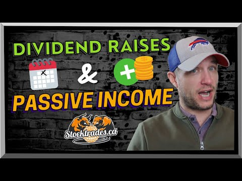 Dividend RAISES 📈 - HUGE Passive Income From These Top Dividend Stocks