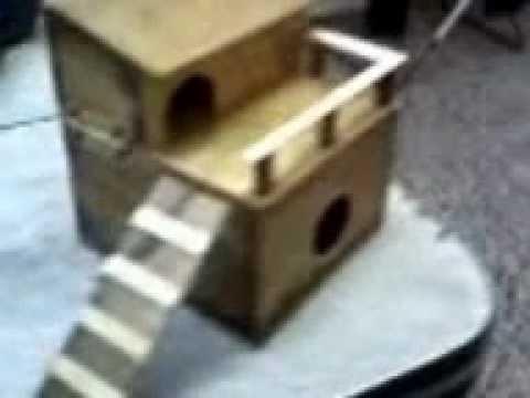 Casa para mi hamster youtube - Trabajar en casa montando cosas ...