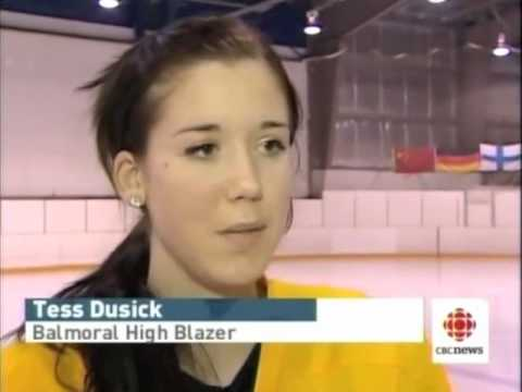 CBC Interview with Balmoral Hall Prep Hockey