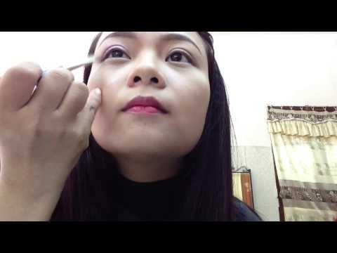 Hướng dẫn make up đi chơi noel tone tím nhũ by Thanh Phương Make Up