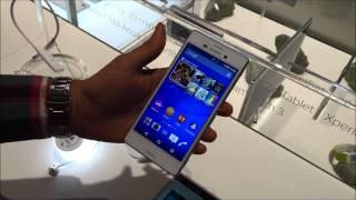 Primeiras impressões: Sony Xperia M4 Aqua [MWC 2015]