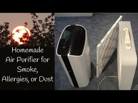 HEPA vs DIY Forest Fire Smoke Air Filter for Home